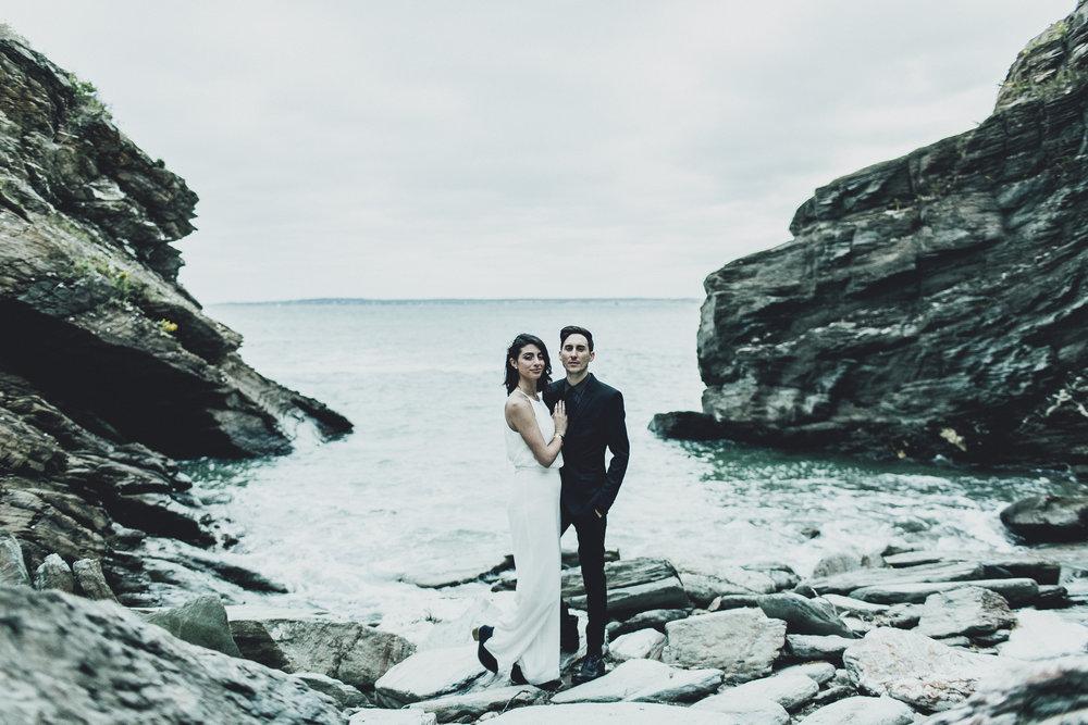 STEVE & JESS // BEAVERTAIL . RHODE ISLAND