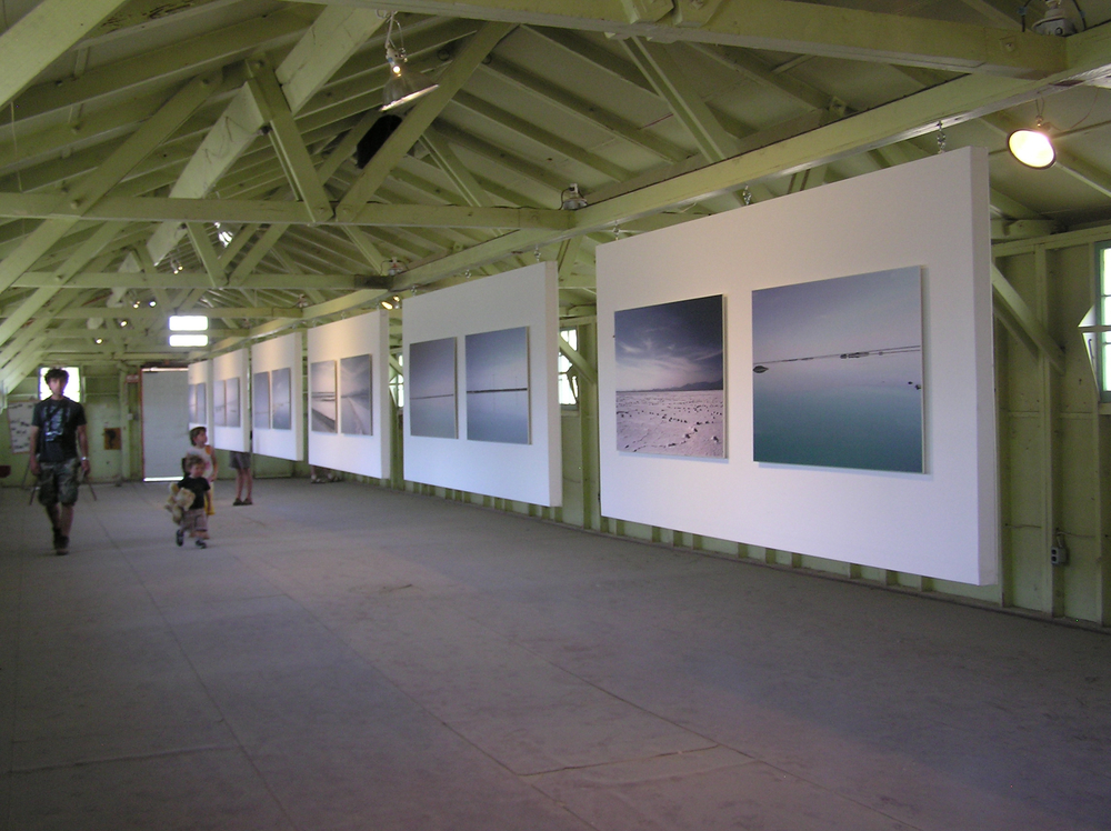Inside one of the Center for Land Use Interpretation galleries, Wendover,Utah Photo: Elaine Parks