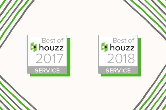 2 Year winner for service excellence! -
