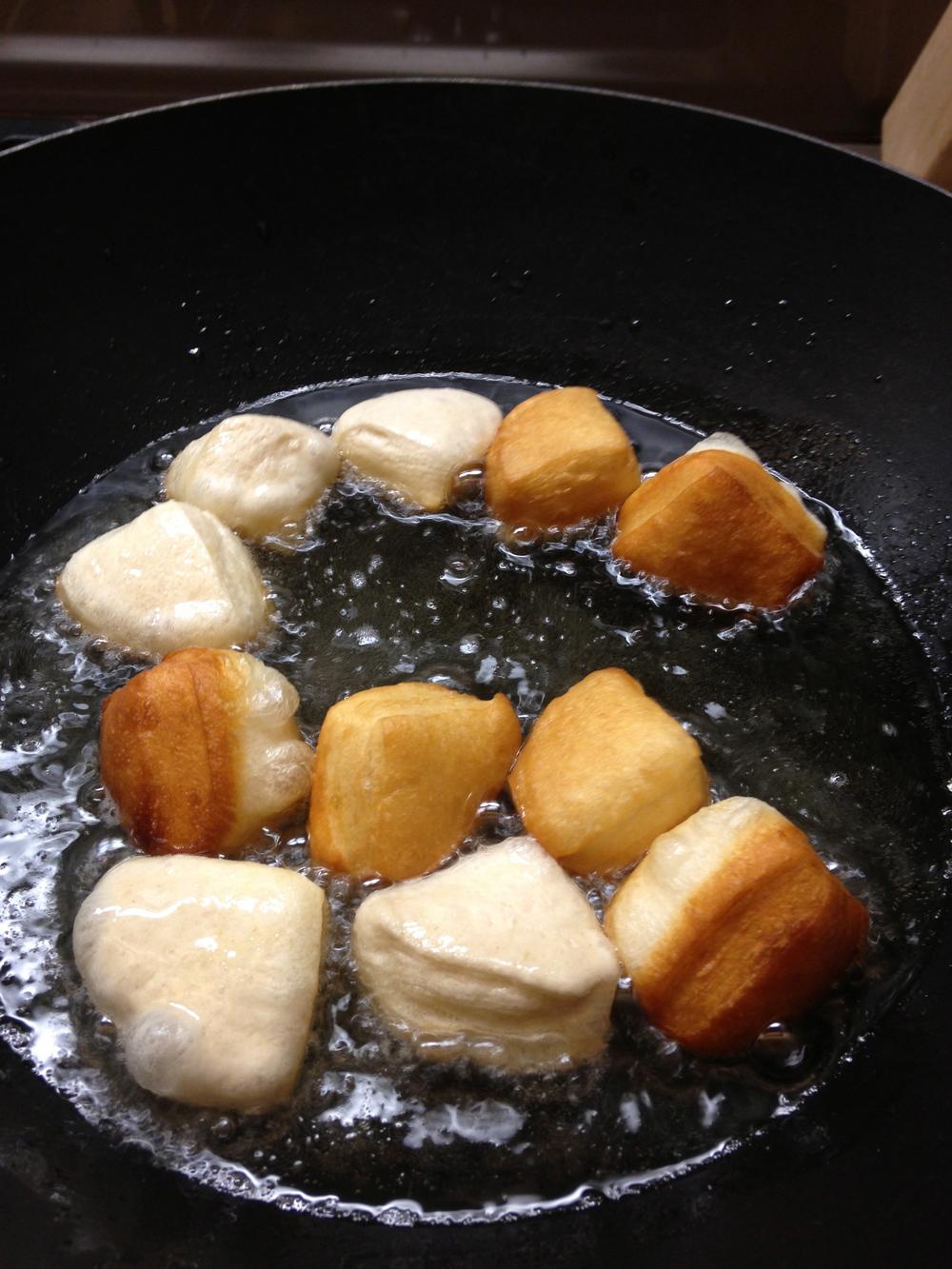 Deep fry until golden brown