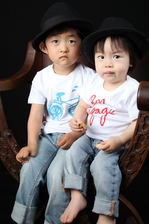 Grandchildren Theo & Yugo