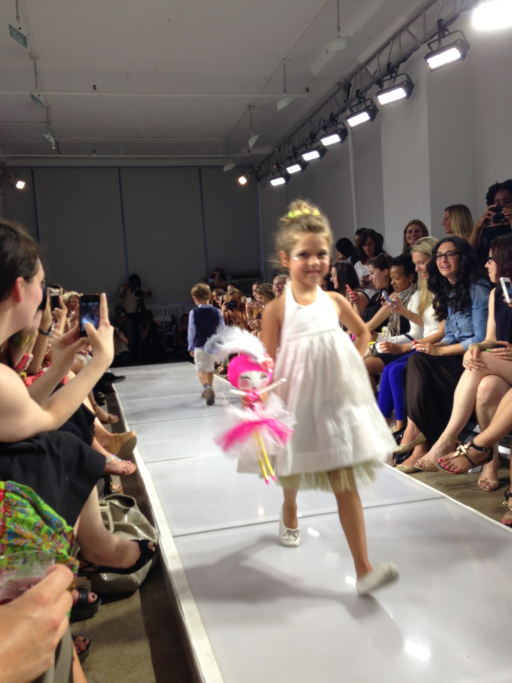 Photo from the fashion show
