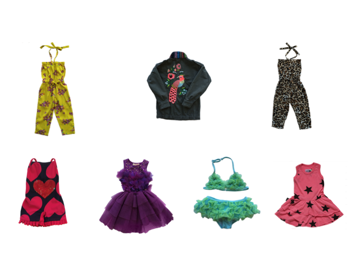 Colorful Jumpsuits, Swimsuits & Jacket