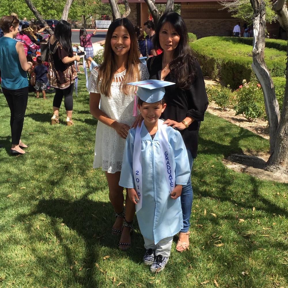 Mom + G-Ma + The Graduate