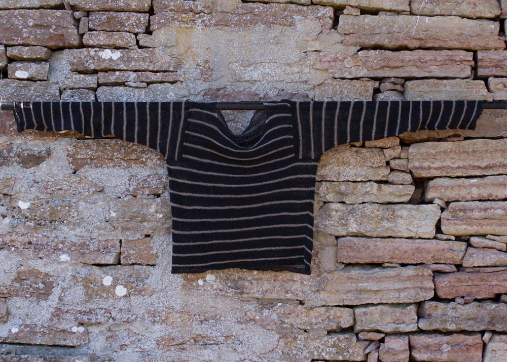 Gles tröja med ränder, Kalinka Garn och stickbeskrivning Small 510 SEK Medium 720 SEK