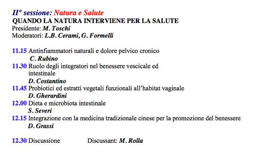7 Giugno Convegno Natura E Salute A Modena Sabrina Severi