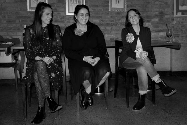 Da sinistra, io, Chiara e Barbara..l'amica del cuore