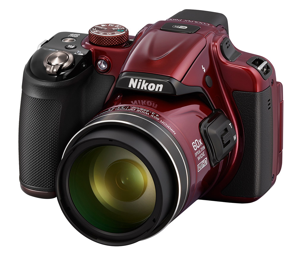 I think we all know what Nikon's favourite colour is. Blue, the answer is blue.