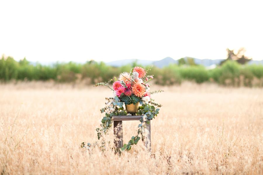 Modern Rustic Flowers