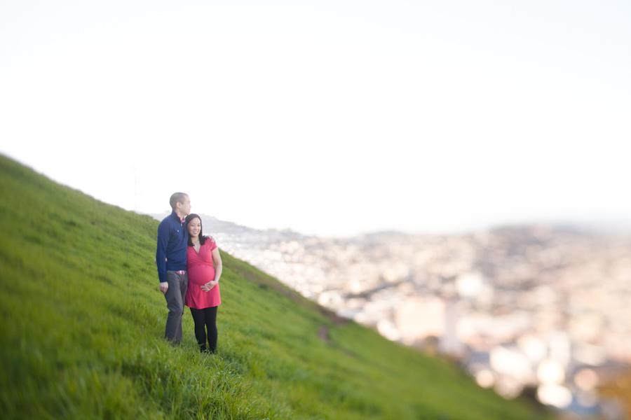 Denise & Ryan | San Francisco Maternity Session