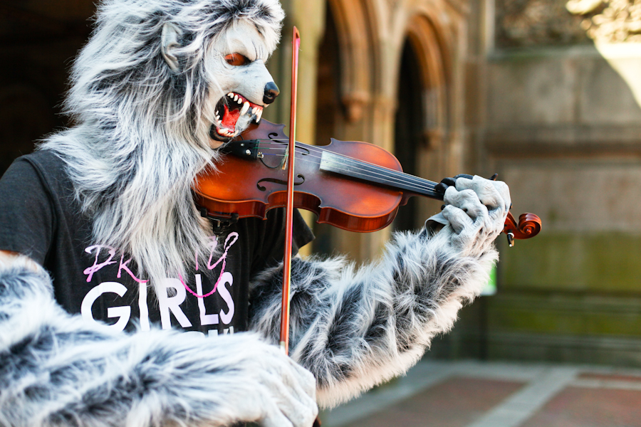 Violin Monster