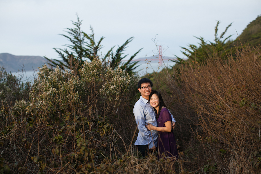 Lands End Engagement Photography | Melissa & Alex