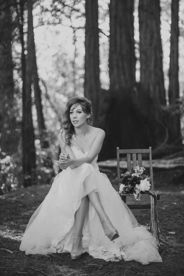 Elegant Redwood Forest Wedding Photography