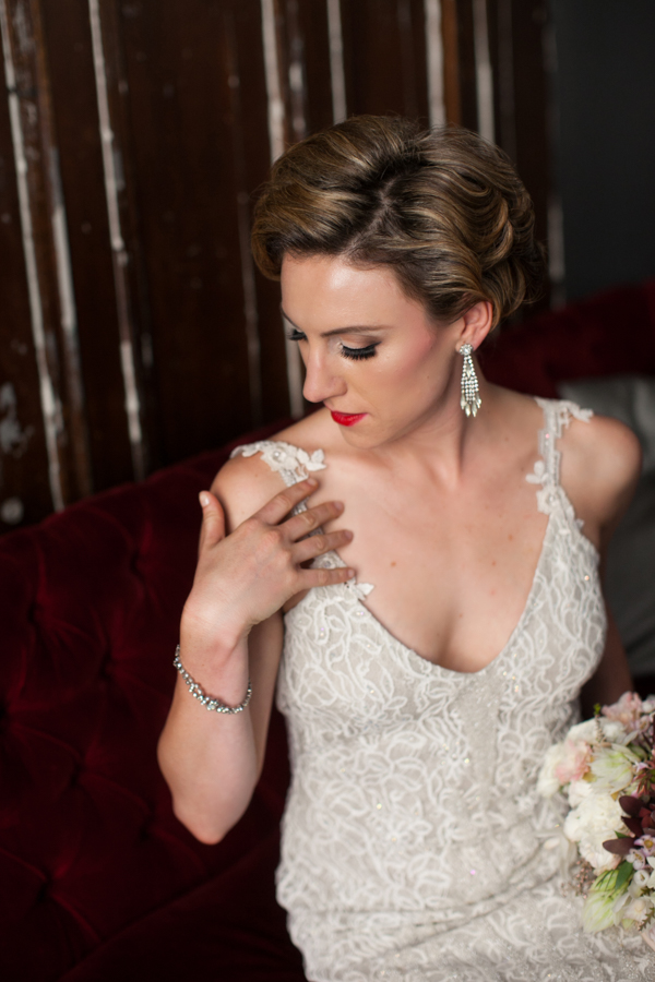 Burritt Room Wedding Photography | Glamorous Prohibition Styled
