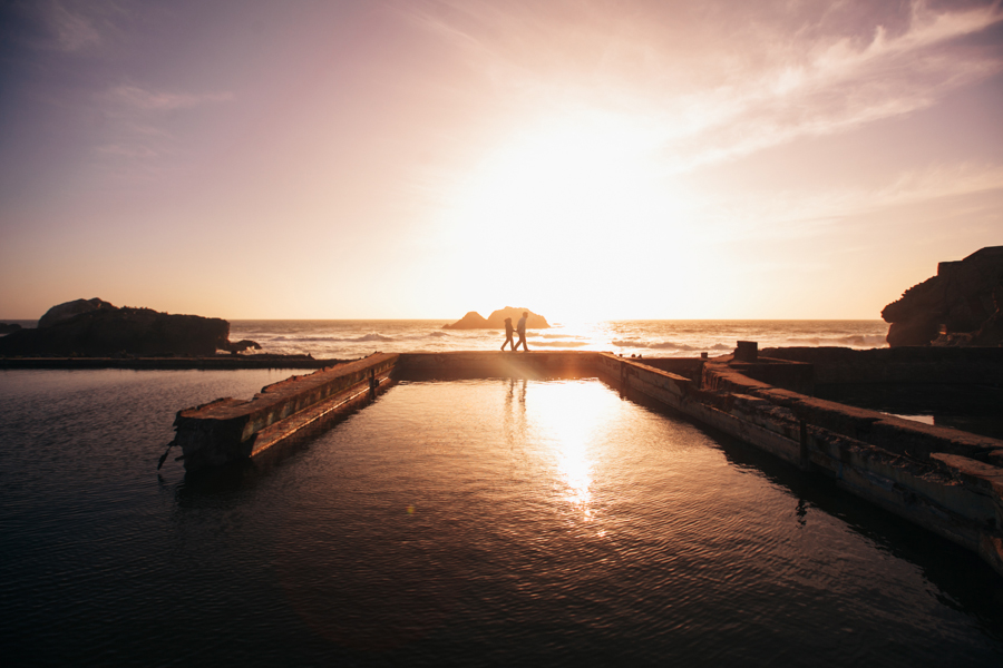 Sutro Baths Engagement Photographer | Joanna & Will