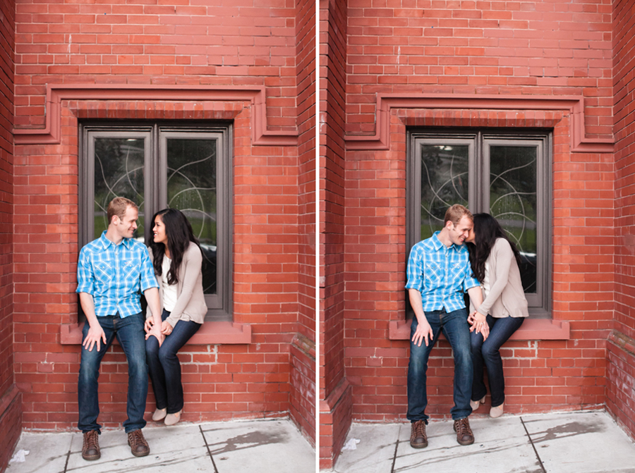 Mission District Engagment Photographer | Renee & Brian