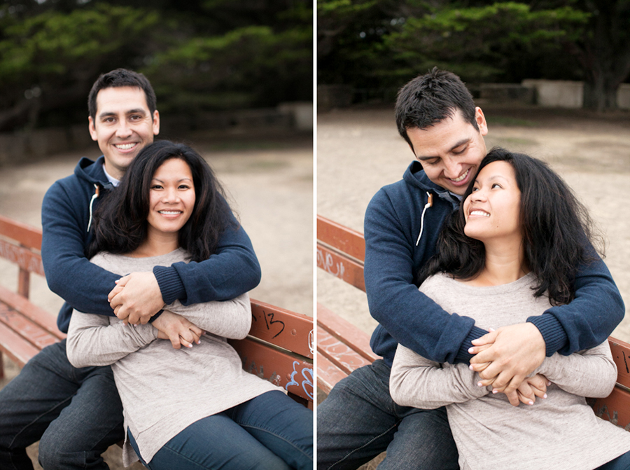 Raenelle & Kris | Sutro Heights Park Engagement Session