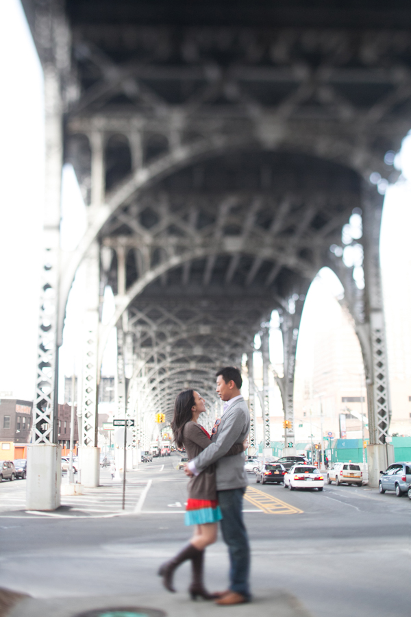 Tianne & Yam Ki | New York Engagement Session