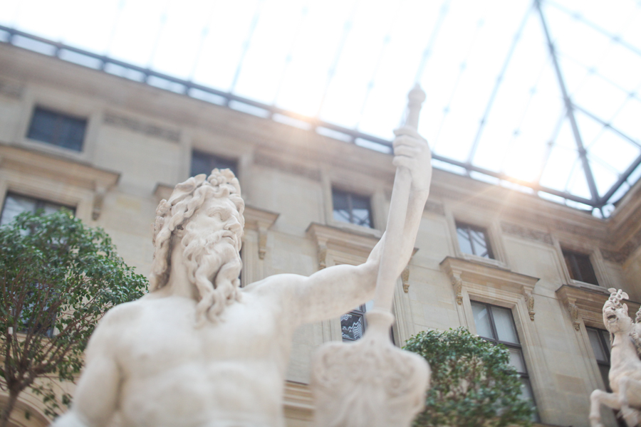 louvre photography