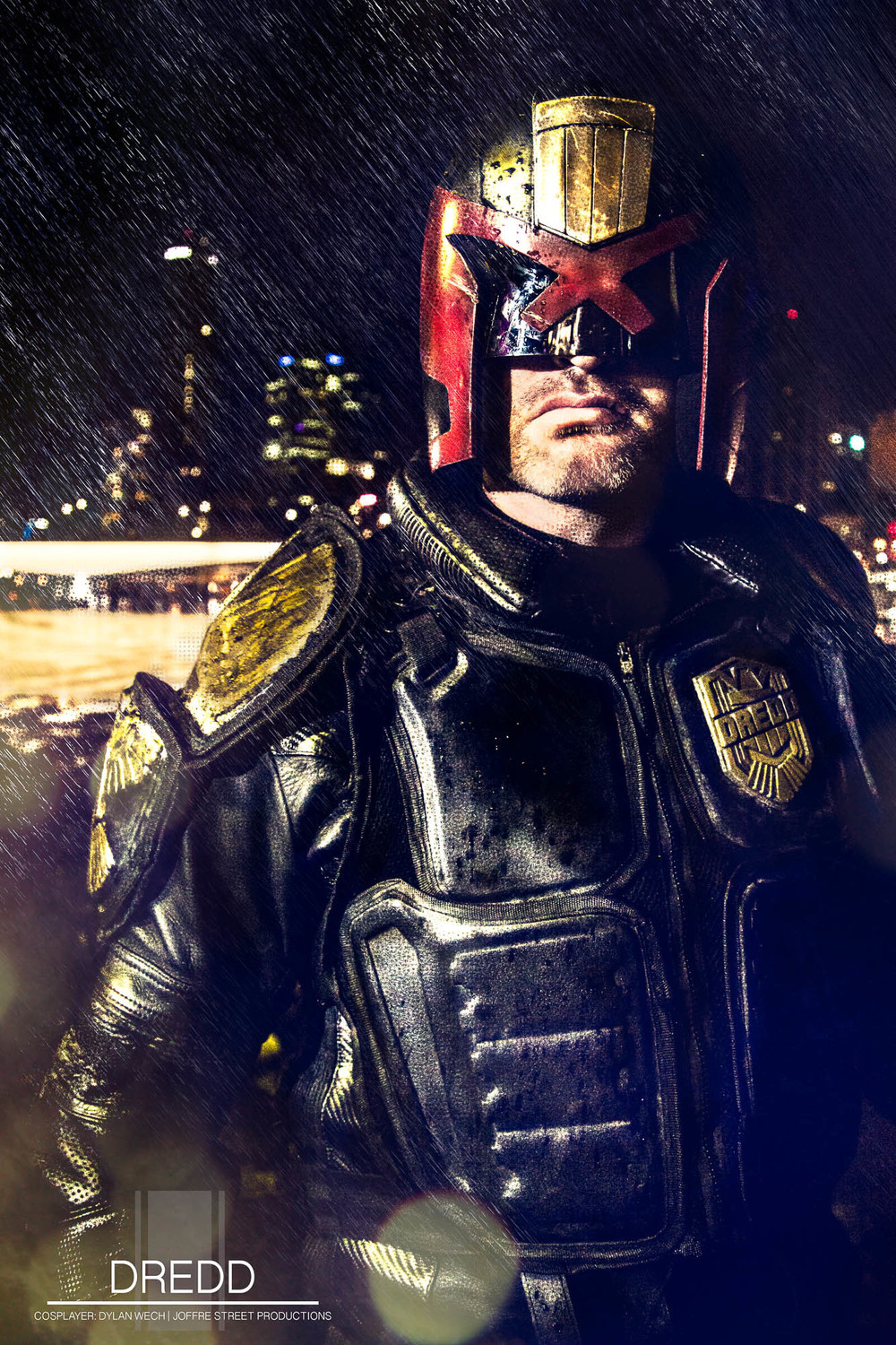 Movie Poster Stylised DREDD
