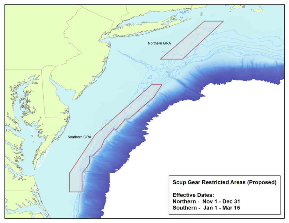 Figure 1: Proposed modification to the southern GRA (Click image to enlarge).