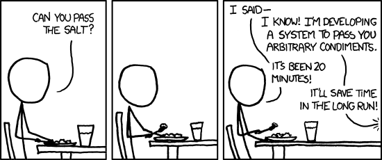 The General Problem by Randall Munroe, published on xkcd.com