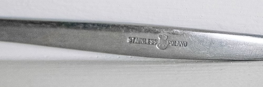 The information stamped onto the fork itself hasn't led to any leads so far.