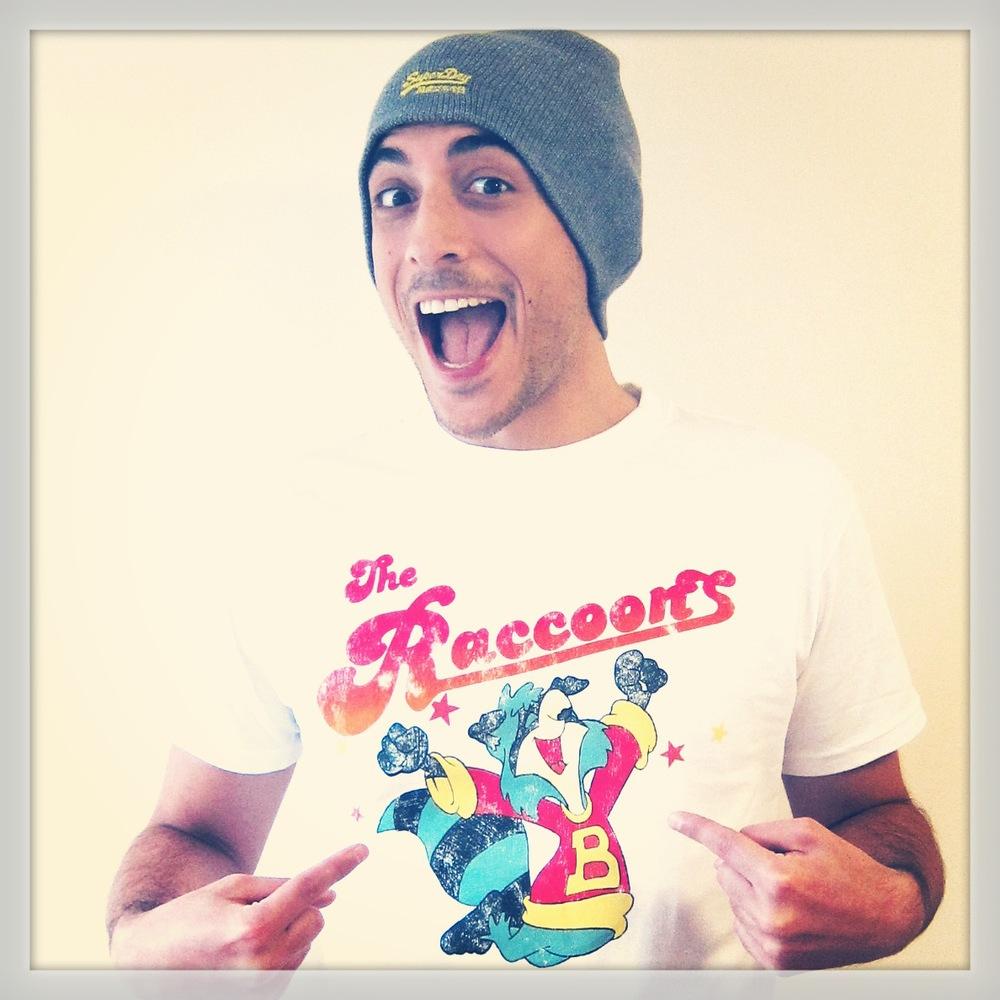 Raccoons Tshirt pic 1.JPG