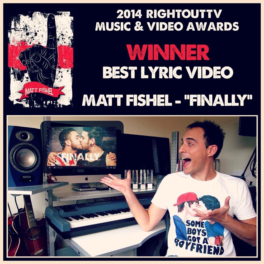 2014 ROTV Awards Winner - Best Lyric Video.JPG