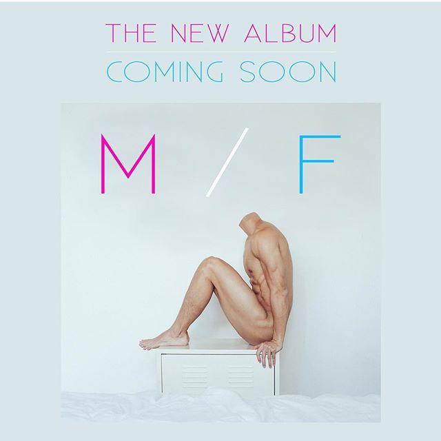 😁 #M/F #newalbum #newmusic #comingsoon 🏳️🌈