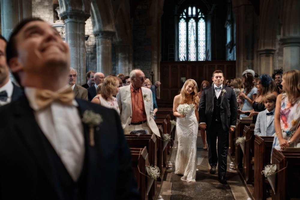 Documentary wedding photography in Salisbury