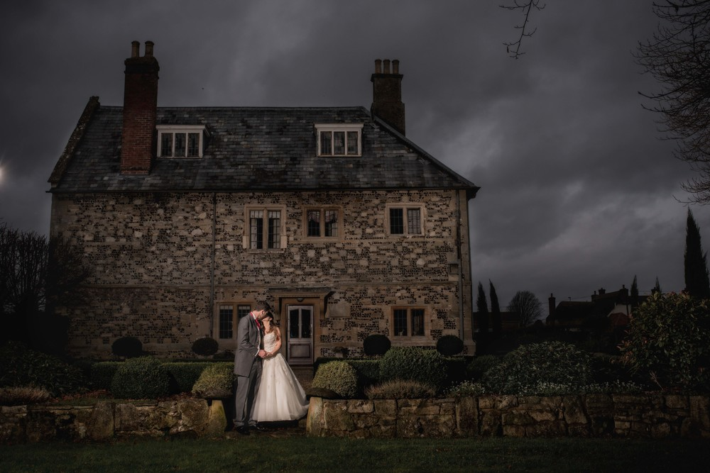 Manor Barn WInterbourne Stoke wedding photography
