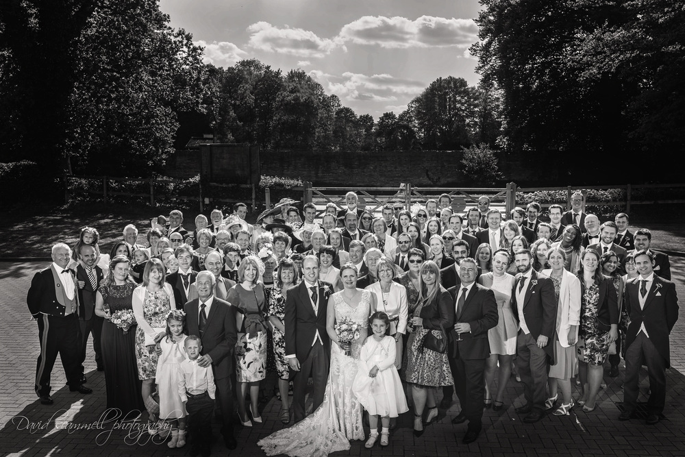 From the guests starting to gather, move into position, adjust lighting as required and of course the people from start to finish - this Large group picture too just 4 mins to create!!!!!  I don't do faffing around,
