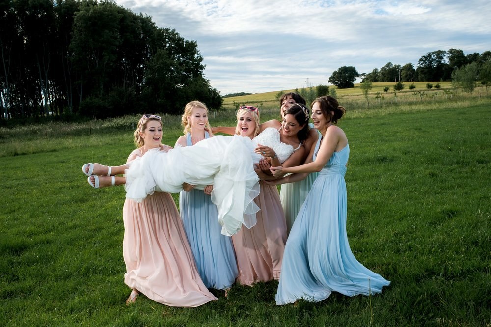 Wagons and Fire - Pewsey Vale wedding photography