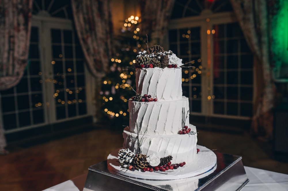 - What was your wedding inspiration? (think decor, overall theme and feel of the day, etc) Christmas!!!All Christmas themed - tea light and mini Christmas trees ....spices and smells With  pretty pinecones and fake snow covered tables !!