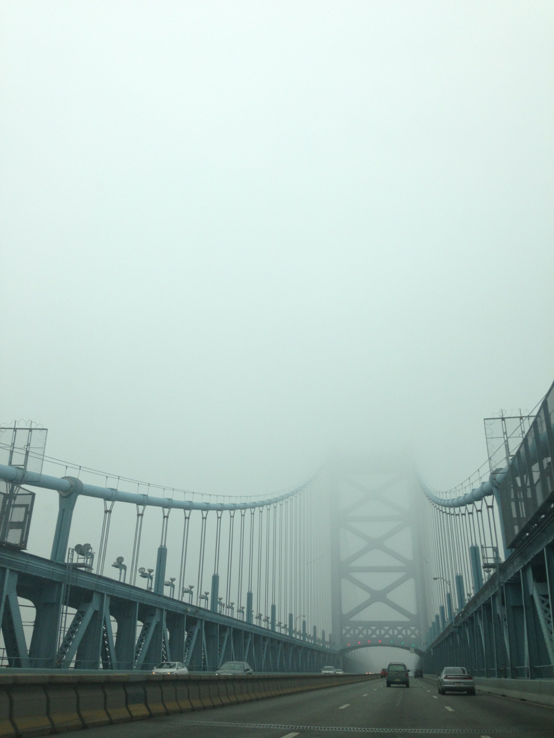 #bridge #philly #fogstagram