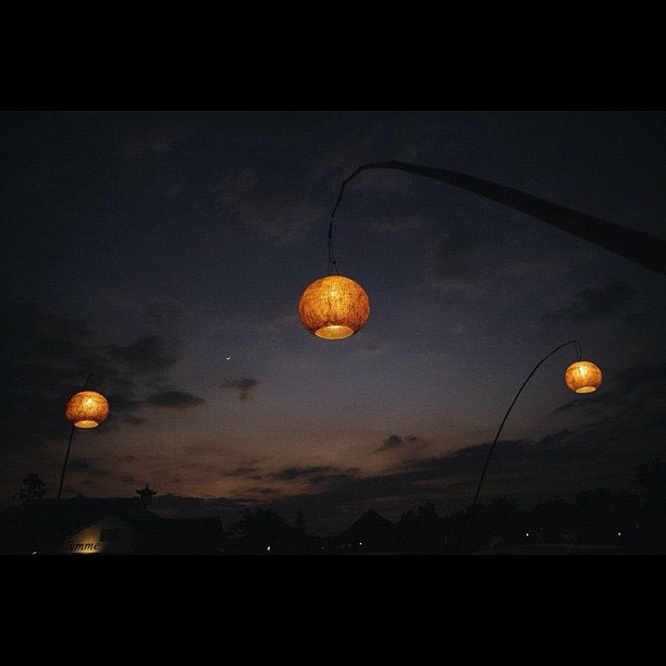 Image 3 from #magicmoon    Turkish restaurant parking lot in Seminyak, Bali.  (Taken with  Instagram )