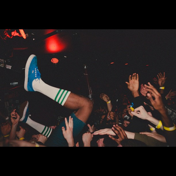 Helps to look back once in a while. #TylerTheCreator #barbary #philly (Taken with  instagram )