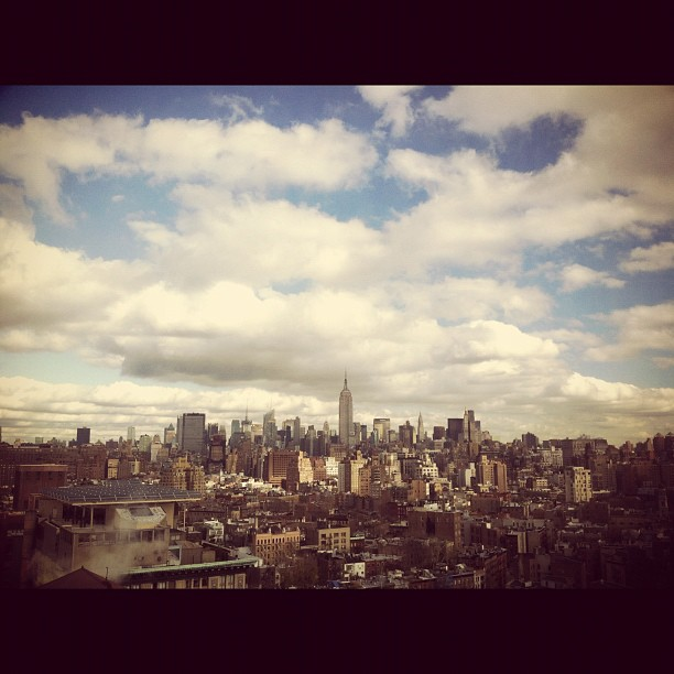 What a freaking view!  (Taken with  Instagram  at Saatchi & Saatchi)