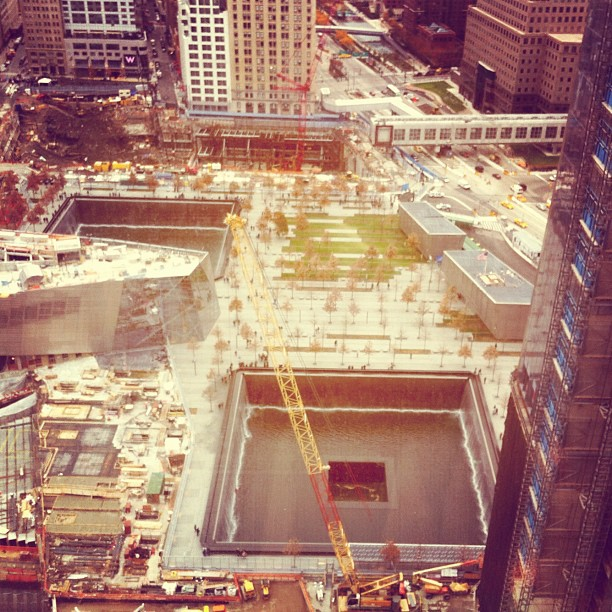 Pretty great view today from #FastCompany office's today. #worldtrade center (Taken with instagram)