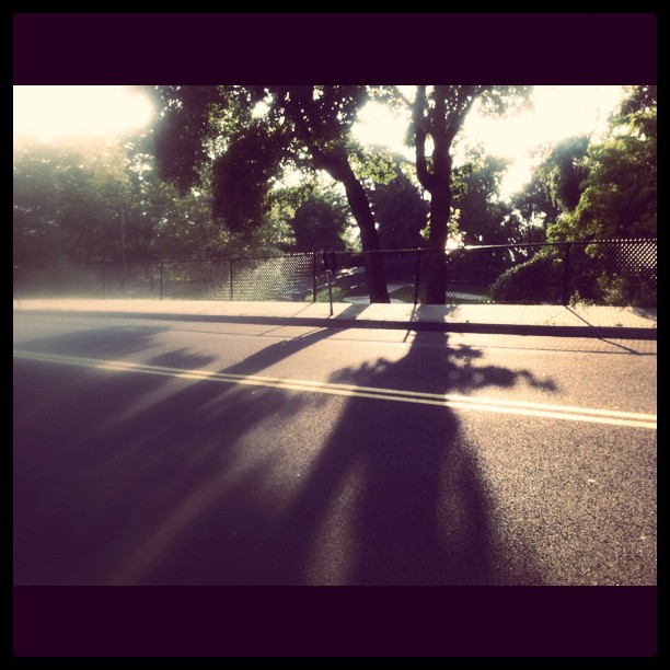 Magic hour up in Westchester Co. (Taken with instagram)
