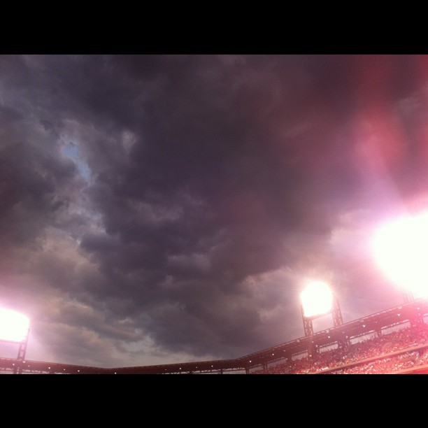 #clouds #nofilter #baseball (Taken with instagram)
