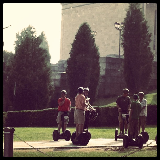 Obligatory #Segway shot. (Taken with instagram)