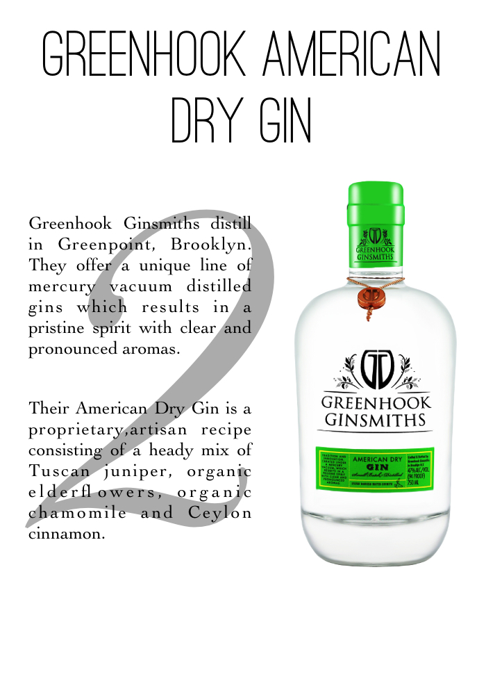 Greenhook Gin profile - thenotepasser.com