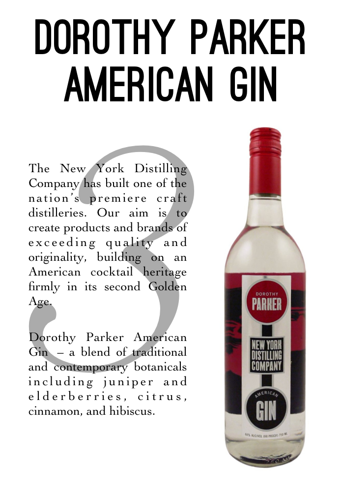 Dorothy Parker Gin profile - thenotepasser.com