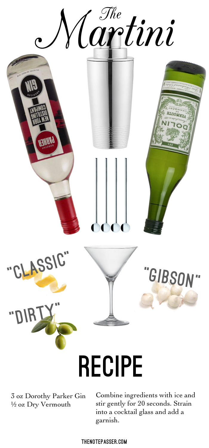 Dorothy Parker Gin  |  Gatsby cocktail shaker  |  metal cocktail stirrers  |  Viv Martini glass