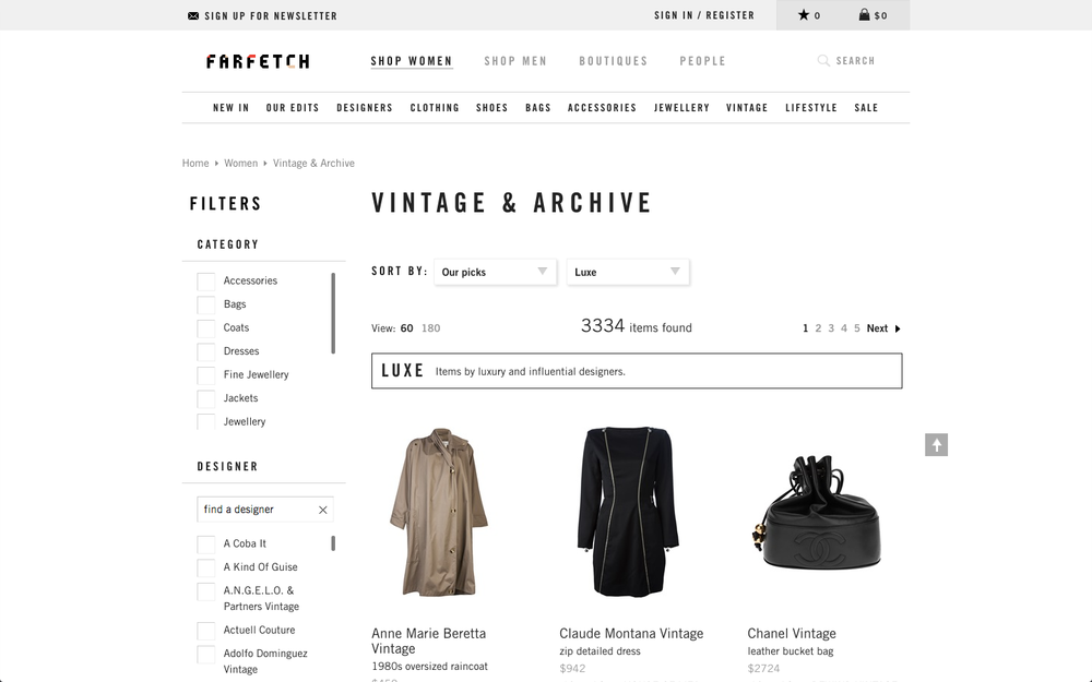Where to Buy Vintage Online via The Note Passer
