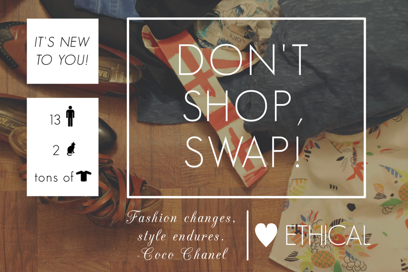 Don't Shop, Swap! via The Note Passer