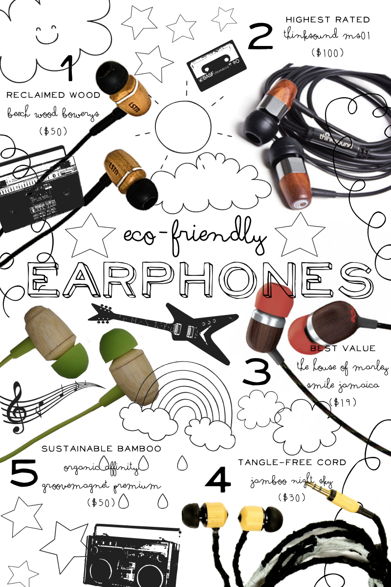5 Eco-Friendly Earphones | The Note Passer