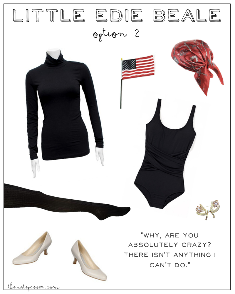 Ethical Halloween Costume: Little Edie Beale | thenotepasser.com